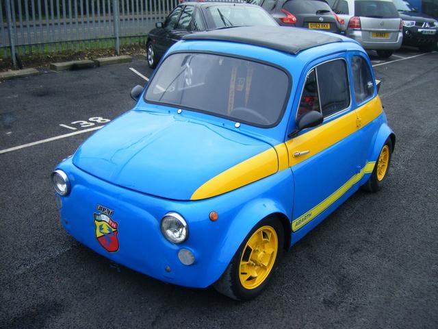 Citroen Hy Online Fiat 500 Abarth Race Car